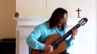 Ave Maria (Bach-Gounod), instrumental - Leo Moreira, guitar