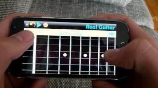 """Nothing Else Matters"" on Real Guitar App"