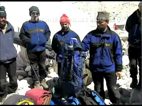 The second phase of the Everest Expedition 2001