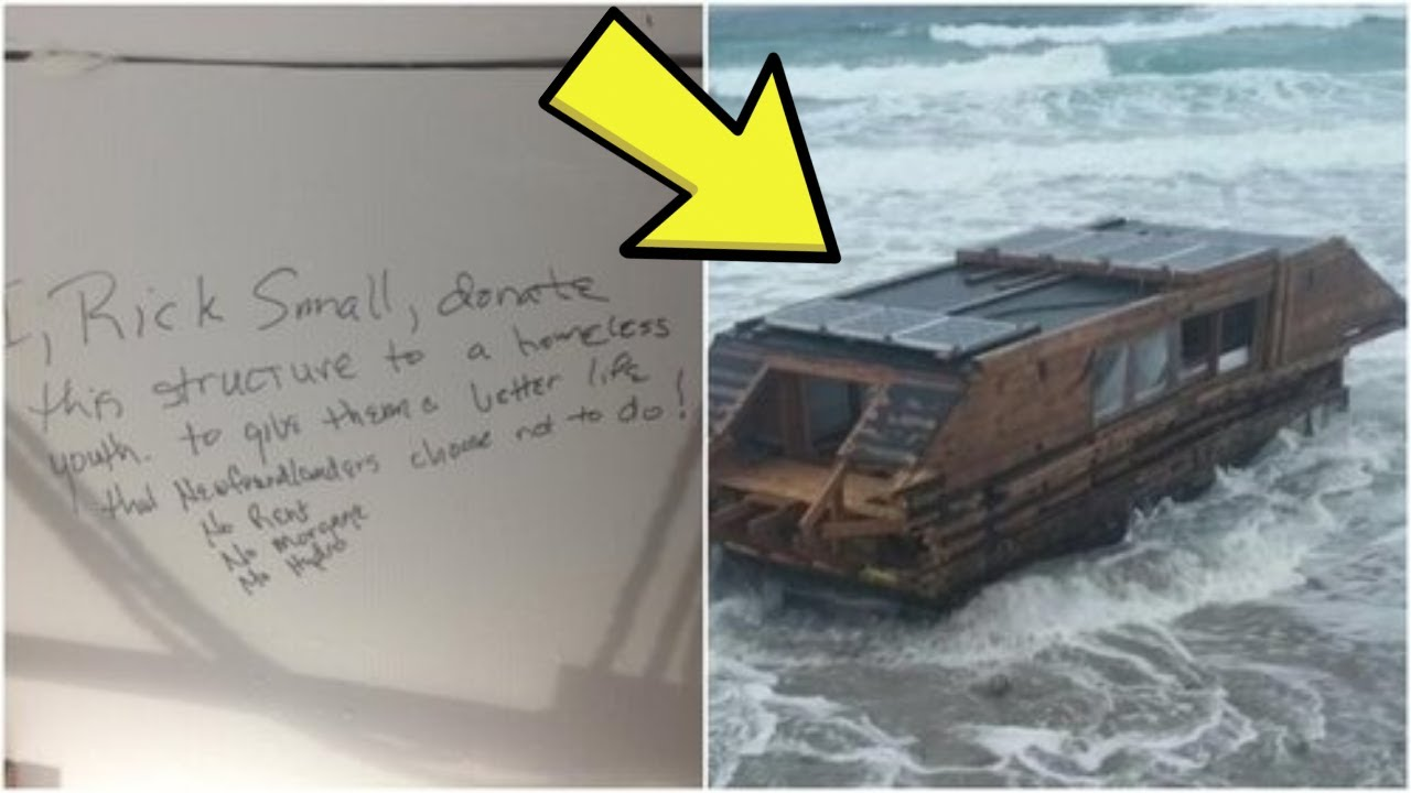 Mystery Boat Washed Up On Ireland's Coast With A Strange Message