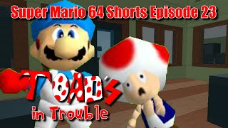 Super Mario 64 Shorts Episode 23: Toad's in Trouble