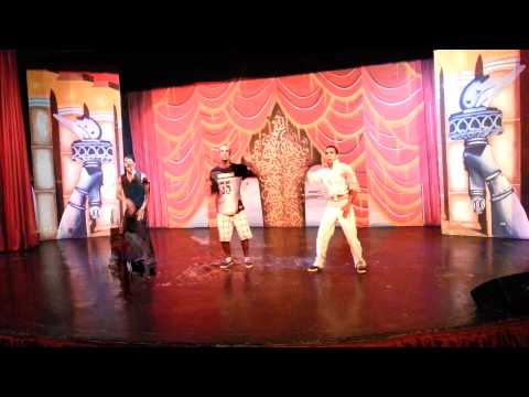 Caribbean Village Agador Animation Breakdance