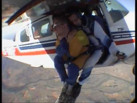 Sky diving South Africa!