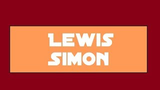Forever Friends: Lewis & Simon