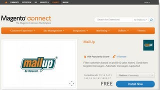 Segmenting Customers in Magento with MailUp Email Marketing