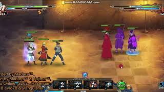 Naruto online 4.0 - Ninja Exam 194 - Water main (Azure Fang) Tajima