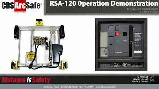 CBS ArcSafe® RSA-120 Operation Demonstration