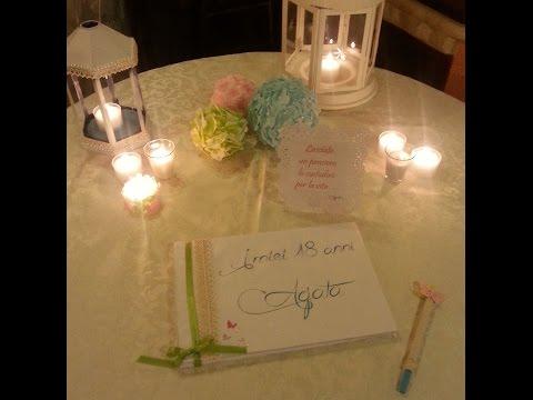 Decorazioni Sala Per 18 Anni : Come decorare la tavola per la festa dei anni tutto per casa