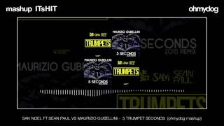 SAK NOEL FT SEAN PAUL VS MAURIZIO GUBELLINI - 5 TRUMPET SECONDS  (ohmydog mashup)