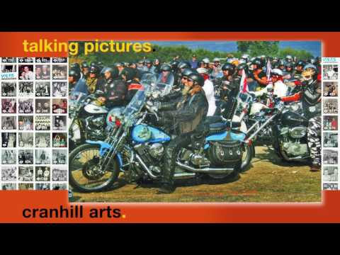 Ian Venart, Harley Davidson Charity Bike Parade Lake Garda Italy 2010