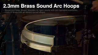TAMA 2.3mm Brass Sound Arc Hoop.
