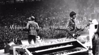 Oasis - Songbird (lyrics)