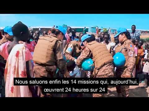 Video : Les Nations Unies rendent hommage aux soldats de la paix