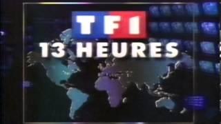 TF1 - Journal de 13 heures (1991)
