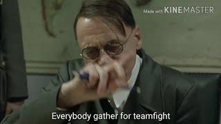 Hitler plays Mobile Legends