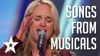 6 Wonderful Performances Of Songs From Musicals   Got Talent Global
