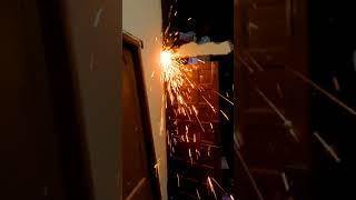 Cutting Iron Rod (Sariya) with Grinder : MP TubeCast