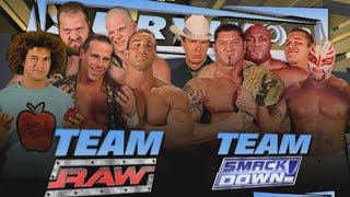 Traditionelle Survivor Series Elimination Matches der Vergangenheit: Raw – 2. November 2015 width=
