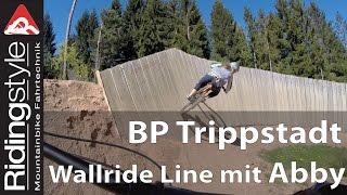 Bikepark Trippstadt: Wallride Line mit Abby