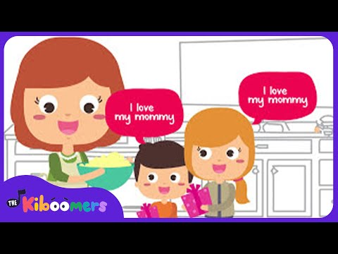 I Love My Mommy | Mother's Day Song for Kids | Happy Mothers Day Song | The Kiboomers - YouTube