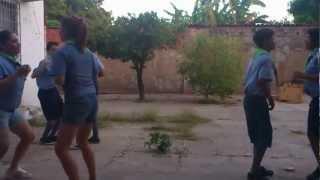 Dança do Tiro Liro Liro - Base Escoteiros do Padre JOTI 2012