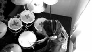 Skunk Anansie - Because of you (something like a drum cover)