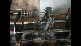 Pompa parowa dwucylindrowa. Worthington duplex steam pump.