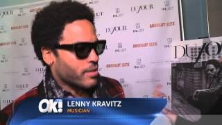 Lenny Kravitz on Cover of DuJour Magazine