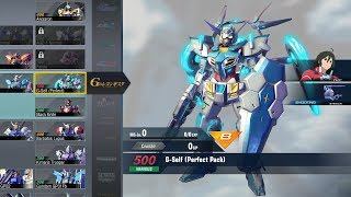 Gundam Versus Combo Guide - G-Self Pefect Pack [DLC]