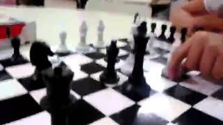 Jogando Xadrez com Mylena Santos