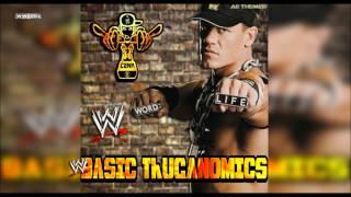"""WWE: """"Basic Thuganomics"""" (John Cena) Theme Song + AE (Arena Effect)"""
