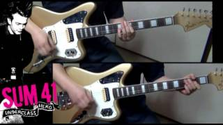 Sum 41 - Underclass Hero (Guitar Cover ★ Lead & Rhythm)
