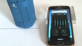 Celtic Blu TallBoy Bluetooth Speaker Bass Booster App Demo