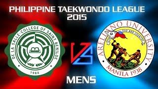 CSB vs AU [MEN] Smart-PTA Philippine Taekwondo League 2015