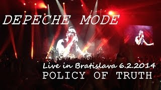 Depeche Mode - Policy Of Truth live in Bratislava 6.2.2014