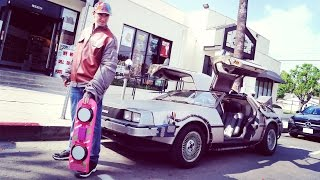 BACK TO THE FUTURE PICKING UP GIRLS