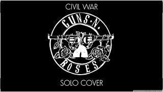 Cover del Solo Civil War - Guns N' Roses