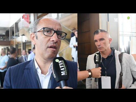 Video : Ziyat et Carteron sonnent la cloche de la fin du mercato du Raja