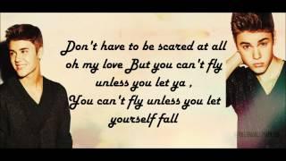 Justin Bieber - Fall [Acoustic] [Lyrics]
