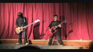 Alex - School Concert - For Whom The Bell Tolls - May 2009