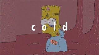 Free XXXTENTACION x Frank Ocean Type Beat - ''Cold''   Sad Guitar Instrumental