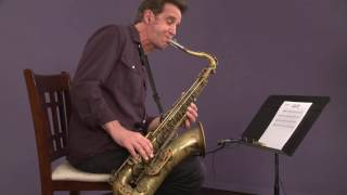 Jazz Saxophone with Eric Marienthal: Advanced Blues Solo (tenor)