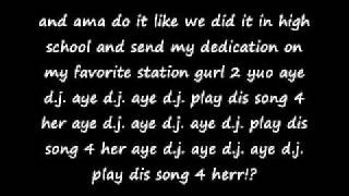 "JIBBS FT LLOYD ""AYE DJ!?""LYRICS .wmv"
