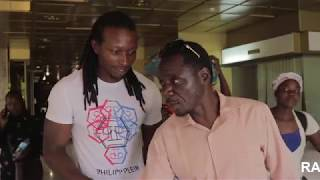 Baba Harare & Alick Macheso talking about ramba Wakadzvanya