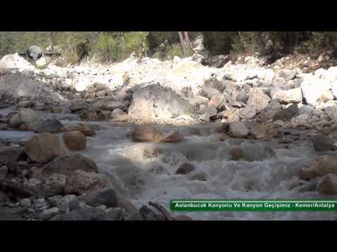 Aslanbucak Kanyonu Ve Kanyon Geçişimiz - Kemer/Antalya