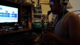 Burn Saxophone Cover