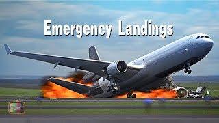 飛機史上危險著陸瞬間 │Airplane Emergency Landings