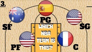 Guess That NBA Team - 2017/2018 NBA Quiz