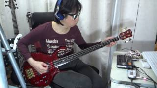R.I.P. Mick Karn -- Quiet Life / Japan (Bass Cover)