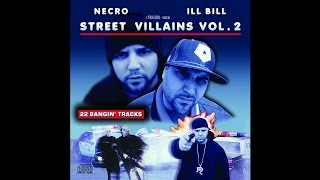 """NECRO - """"REFLECTION OF CHILDREN COMING UP IN THE GRAVE"""" (Remix) ft. Ill Bill"""
